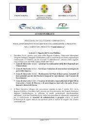 avviso pubblico di procedura di valutazione comparativa per ... - Praxi