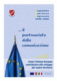 Il Partenariato della Comunicazione - Quaderno ... - Ufficio Europa