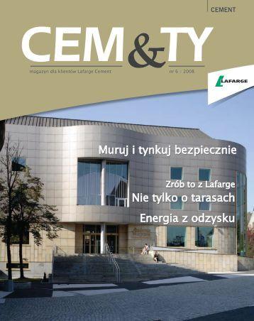 CEM&TY; nr 6 - Lafarge