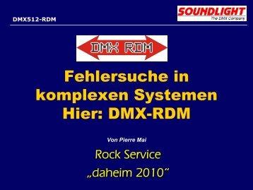DMX-RDM - RS Rock-Service