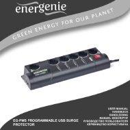 EG-PMS Energenie User Manual (3643 kb)