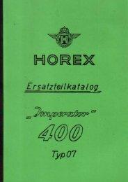 Ersatzteilkatalog Horex Imperator 400