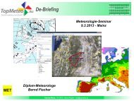 Bernd Fischer - Meteorologie Seminar, De-Briefing (PDF)