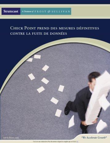 Télécharger le Livre Blanc sur le DLP - Check Point France