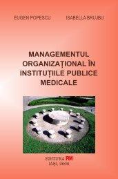 Managementul organizational in institutiile publice ... - PIM Copy
