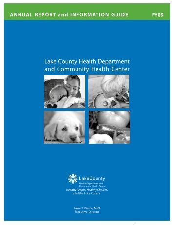 Annual Report of the Lake County Health Department 2009