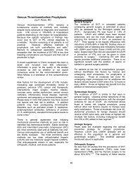 Venous Thromboembolism Prophylaxis - VCU Internal Medicine ...