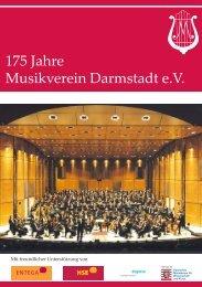 Ein Anbieter – alle Möglichkeiten - Musikverein Darmstadt  eV