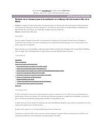 Revisión de la Literatura para la Actualización en el Manejo del ...