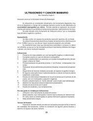 Ultrasonido y Cáncer Mamario - Sociedad Chilena de Mastología