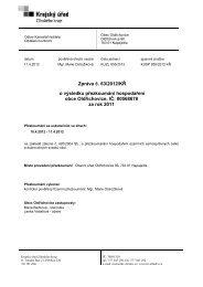 Zpráva č. 63/2012/KŘ o výsledku přezkoumání ... - Oldřichovice