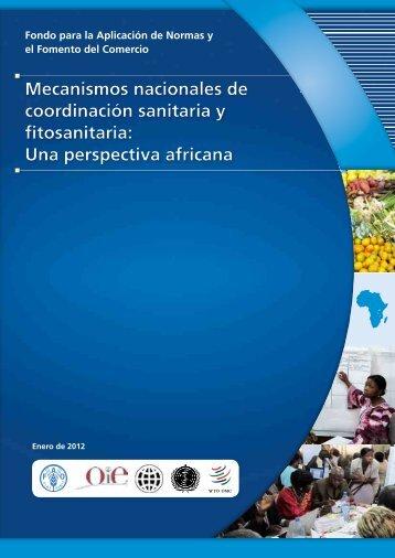 Mecanismos nacionales de coordinación sanitaria y fitosanitaria ...