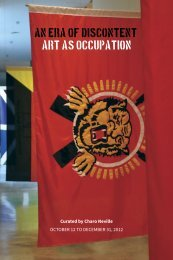 An Era of Discontent - Kamloops Art Gallery