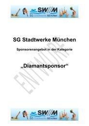 Sponsoring Konzept - SG Stadtwerke München