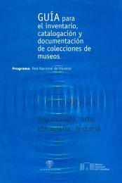 Guía para el inventario catalogación y documentación de ...