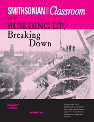 Building Up, Breaking Down - Smithsonian Education