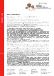 Urs Köthner Verleihung des Josh-von-Soer-Preis 2014