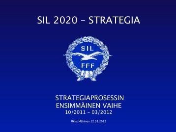 SIL 2020 – STRATEGIA - Suomen Ilmailuliitto