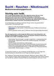 (PDF) Sucht - Rauchen - Nikotinsucht - Sofort Nichtraucher