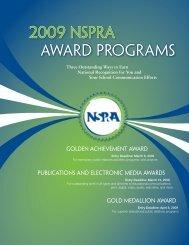 2009 nspra award programs - National School Public Relations ...