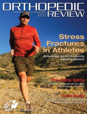 Stress Fractures In Athletes - Central Indiana Orthopedics