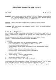 Zápis z jednání pastorační rady ze dne 14.03.2010 - basilica.cz