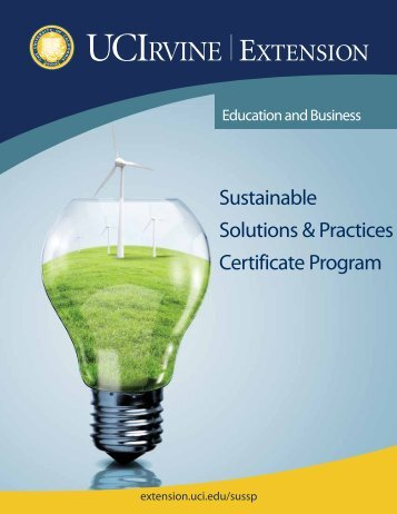 Program Brochure - UC Irvine Extension - University of California ...