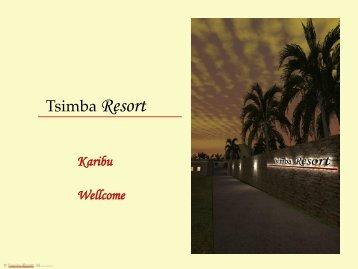 Tsimba Resort - Prizm Share