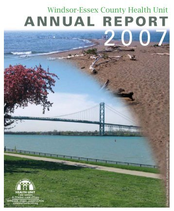 2007 Annual Report - Windsor Essex County Health Unit