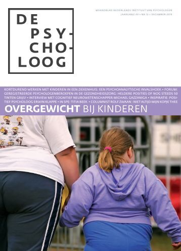 "Image result for ""de psycholoog"" cover NIP"