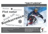 Brochure: Skituren - Idrætsforeningen for handicappede i Aalborg