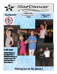 March/April 2010 Newsletter - Southern Star