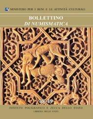 Bollettino di Numismatica n. 48-49 - Portale Numismatico dello Stato