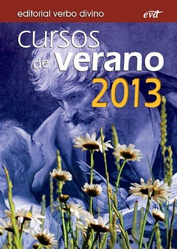 folleto cursos de verano 2013:MaquetaciÛn 1 - editorial VERBO ...