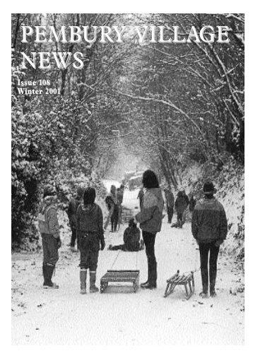 Issue 108 - the Pembury Village Website