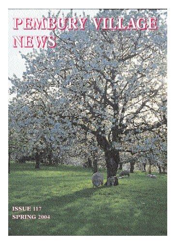 Issue 117 - the Pembury Village Website