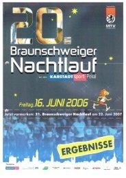 Ergebnisliste 2006 - Braunschweiger Nachtlauf
