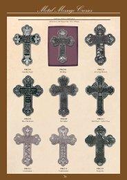 Metal Message Crosses - Christian Supplies