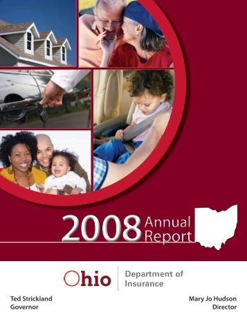 Report Report - Ohio Department of Insurance - State of Ohio