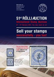 Sell your stamps - R+B Rölli-Schär AG, Luzern