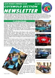 Newsletter New Style Oct 2011