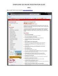 SHARYLAND ISD ONLINE REGISTRATION GUIDE
