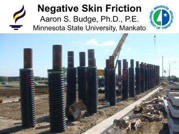 Negative Skin Friction Downdrag