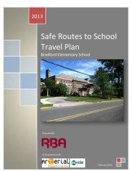 Bradford School - NJ Safe Routes to School