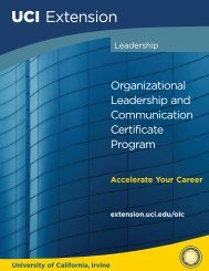 Organizational Leadership and Communication Certificate Program