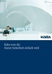 Kaba exos sky - damit Sicherheit einfach wird