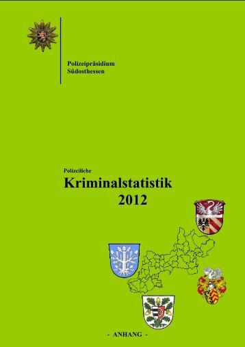 Polizeiliche Kriminalstatistik 2012 - Jossgrund