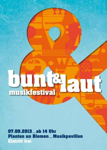 Open-Air-Festival in Planten & Blomen - Musikpavillon