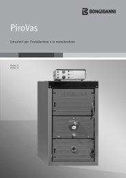 BONGIOANNI caldaia legna PiroVas - Certificazione energetica edifici