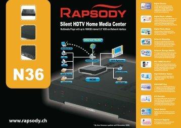 RAPSODY N36 (English) - Ekab Distribution AB